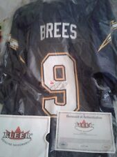 2002 Fleer Legacy Drew Brees Auto Replica Jersey With Tags