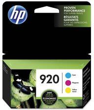 GENUINE HP 920 COLOR INK N9H55FN OEM OFFICEJET 6000 6500 6500A 7000 7500 7500A