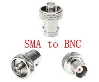 BNC Female to SMA Female Connector for Series Ham 2-Way Walkie Talkie