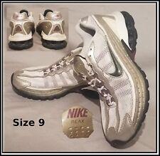 super popular 60a87 c5a4c Nike Reax Talla 9 Blanco Bronce Borgoña Para Mujeres Zapatos Correr  316575-101 2007