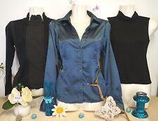 Lot vêtements occasion femme ... Chemisier, Gilet, Sous-pull ...   T : 36 / 38