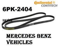 Serpentine Drive Belt Continental for Mercedes C CLK CLS E G GL ML R S SL Models