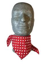 Rock star biker Cowboy Cowgirl robber Rockabilly Neck scarf bandana Fancy dress