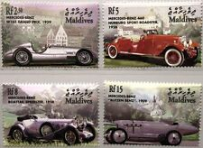 MALDIVES MALEDIVEN 2001 3825-28 Mercedes Benz Automobile Autos Cars MNH