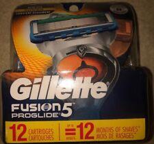 """Gillette Fusion5 ProGlide Men's Razor Blade Refills - 12 Count""""FREE-SHIPPING"""""""