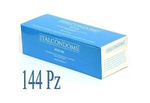 preservativi profilattici stimolanti italcondom  conf 144 pz nature