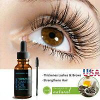 Castor Oil for Growth Hair Eyebrow& Eyelash Eye Brow& Lash 100% Natural Organic
