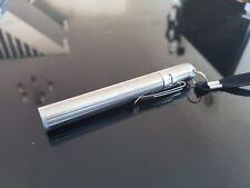 Tactical Waterproof Pen Pocket XP-E R2 LED 2000LM Flashlight Torch 1xAAA Silver