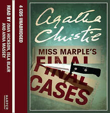 Miss Marple's Final Cases Unabridged (3/180) by Agatha Christie (CD-Audio, 2005)