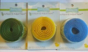 NEW Babyville Boutique ez Hook & Loop Tape PICK blue/yellow/green cloth diapers