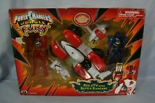 Mighty Morphin Power Rangers Jungle Fury Red ATV with Battle Rangers (2008)