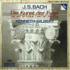 CD J.S. BACH - die kunst der fuge, Kenneth Gilbert