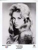 Brigitte Bardot Hand Signed Psa Dna 8x10 Photo Autograph And God Created Woman