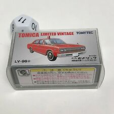 TOMICA LIMITED VINTAGE NISSAN CEDRIC LV-96 RED by Tomytec MINT UNOPENED!