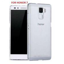 Ultra Slim Soft TPU GEL Clear Crystal Transparent Case Cover for Huawei Honor 7