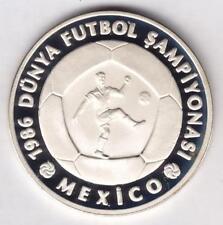 Münzen mit Fußball-Motiven aus Mexiko