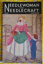 Needlewoman & Needlecraft MAGAZINE-Knitting / cucito / CUCITO-N. 21 - 1945