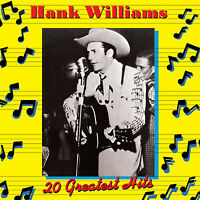 Hank Williams - 20 Greatest Hits Volume 1 CD