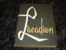 """1957 Southwestern Louisiana Institute College Yearbook Year Book """"Lacadian"""""""