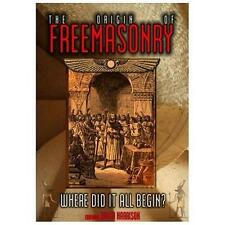 The Origin of Freemasonry: Where Did it All Begin (DVD, 2013)