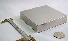 Extra Large Super N52 Neodymium / NdFeB Ni-Cu-Ni Coated 90x90x20 mm Magnet