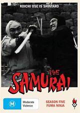 The Samurai - Fuma Ninja : Season 5 (DVD, 2010, 3-Disc Set)