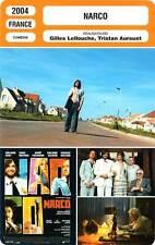 FICHE CINEMA : NARCO - Canet,Breitman,Poelvoorde,Lellouche,Aurouet 2004
