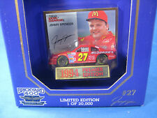 RACING CHAMPIONS 1994 PREMIER EDITION JIMMY SPENCER #27 1:64 BRICKYARD 400