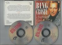 BING CROSBY ~THE BEST OF BING CROSBY ANYTHING GOES~ DOUBLE CD *FREE P&P*