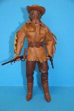 Vintage Big Jim action figure doll Karl May Old Surehand Mattel dark hat