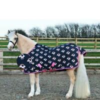 Hy Unicorn Print Lightweight Waterproof Breathable Turnout Horse Rug No Fill 0g