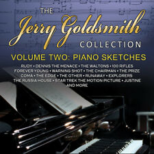Jerry Goldsmith : Piano Sketches: The Jerry Goldsmith Collection - Volume 2 CD