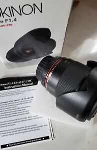 Rokinon 24mm F1.4 Nikon Full Frame Camera Lens | Photography | Lens