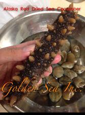 Alaska Red Dried Sea Cucumber-natural Sun Dried(Large)1lb, Grade AAA