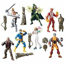 Set of 7 (8 with BAF) X-Men Marvel Legends 6-Inch Wave 2 IN HAND Build Warlock