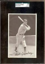 1939 GOUDEY PREMIUM R303-B HANK GREENBERG SGC 88!! 8!! FINEST KNOWN