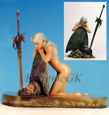 """1/7 Fantasy Figurine: """" FIN """" Elf on Base (No water Parts) Unpainted Resin Kit"""