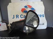 1999 - 2004 FIAT MULTIPLA O / S driver laterale elettrico Specchietto Laterale Nero
