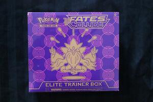 Pokemon XY Fates Collide Elite Trainer Box - Factory Sealed - Alakazam Chase