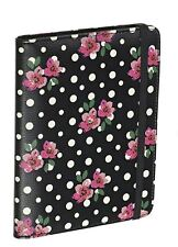 Accessorize Amazon Kindle Covers Polka Dot Floral Design with Built-In Stand NEW