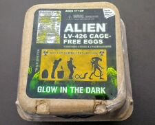 NECA Alien Glow in The Dark 4 Eggs Pack Replica Loot Crate Ripley Covenant