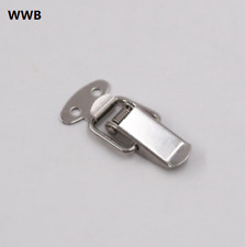 10PCx Cabinet Box Locks Spring Loaded Latch Catch Toggle 45*16mm Iron Hardware