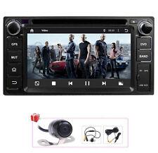 Camera+Map Android 5.1 Autoradio GPS Navigation DVD Stereo Headunit For Toyota