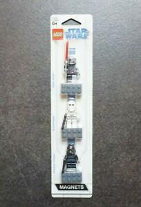 LEGO STAR WARS 852715 MAGNET MINIFIGUREN OVP NEU DARTH VADER SNOW TROOPER SHADOW