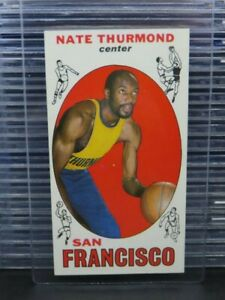 1969-70 Topps Basketball Nate Thurmond RC Rookie Card #10 Warriors Y274