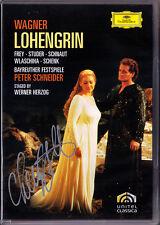 2.DVD Cheryl STUDER Signiert WAGNER Lohengrin Frey Werner Herzog PETER SCHNEIDER