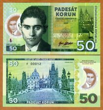 Czechoslovakia, 50 Korun, 2019 Private issue polymer > Franz Kafka