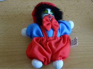 Clown miniature porcelaine