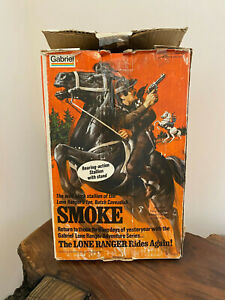 "1974 The Lone Ranger ""Smoke"" Horse with Original Box"