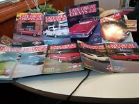 Lot Of 10 Late Great Chevy Magazines 1991 & Parts Supplement